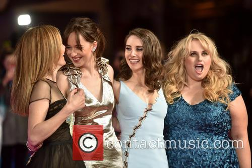 Dakota Johnson, Rebel Wilson, Alison Brie and Leslie Mann 5