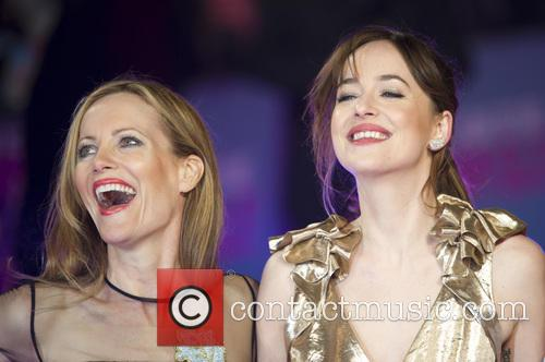 Leslie Mann and Dakota Johnson