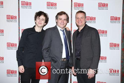 Timothée Chalamet, Robert Sean Leonard and Chris Mcgarry 7