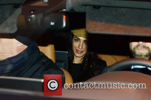 George Clooney and Amal 7