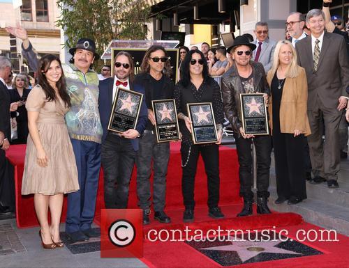 America Ferrera, Carlos Santana, Alex Gonzalez, Sergio Vallin, Juan Calleros, Fher Olvera, Guest and Leron Gubler 1