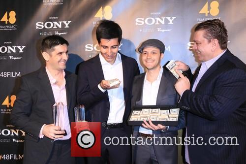 Chris Siamentis, Marco Santi, Brett Wolcott and Francesco Vitali 5