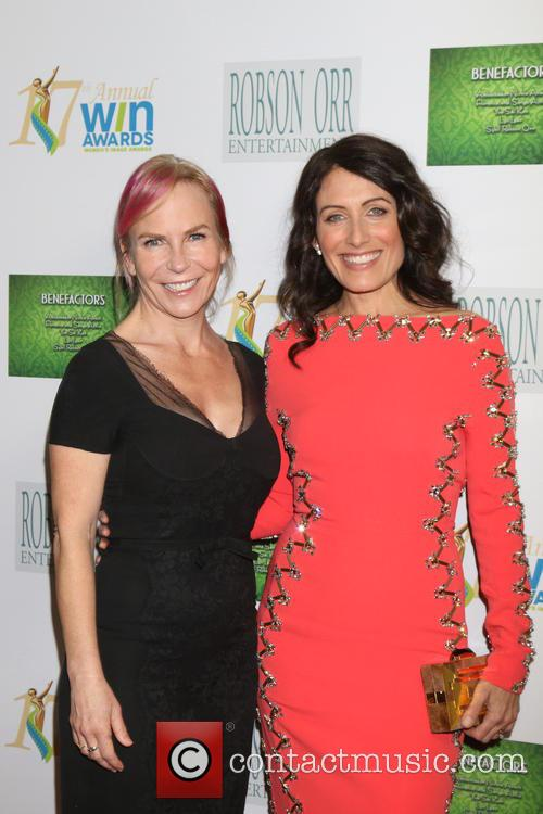 Marti Noxon and Lisa Edelstein 1