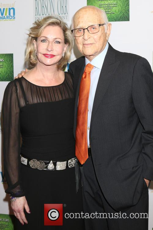 Lyn Lear and Norman Lear 1
