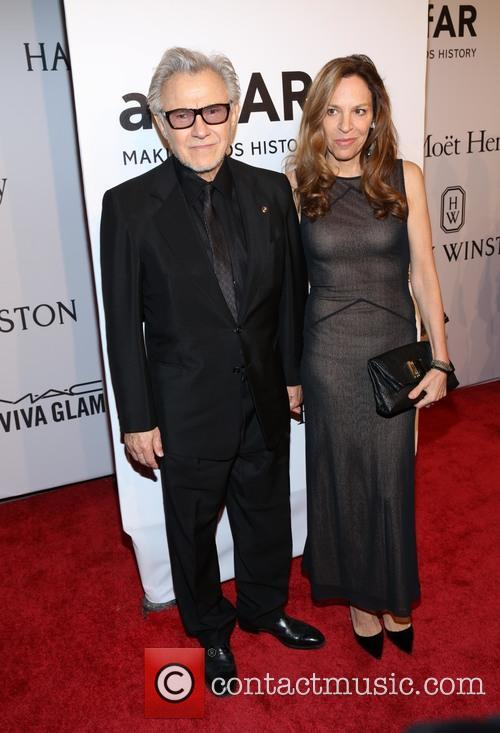 Harvey Keitel and Daphna Kastner 1