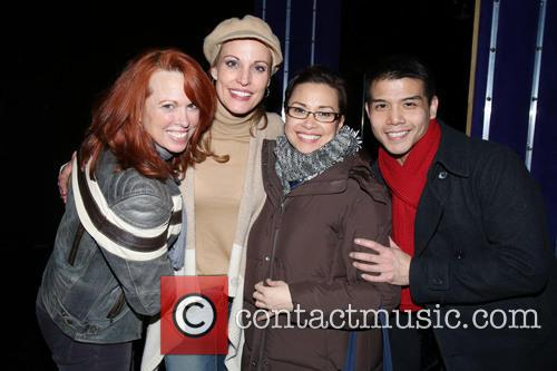 Carolee Carmello, Rachel York, Lea Salonga and Telly Leung 3