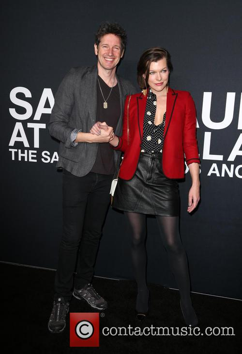 Milla Jovovich and Paul W. S. Anderson 3