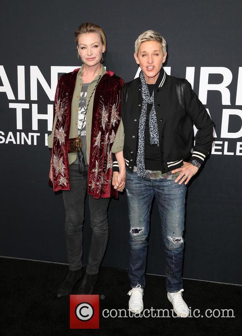 Portia De Rossi and Ellen Degeneres 2