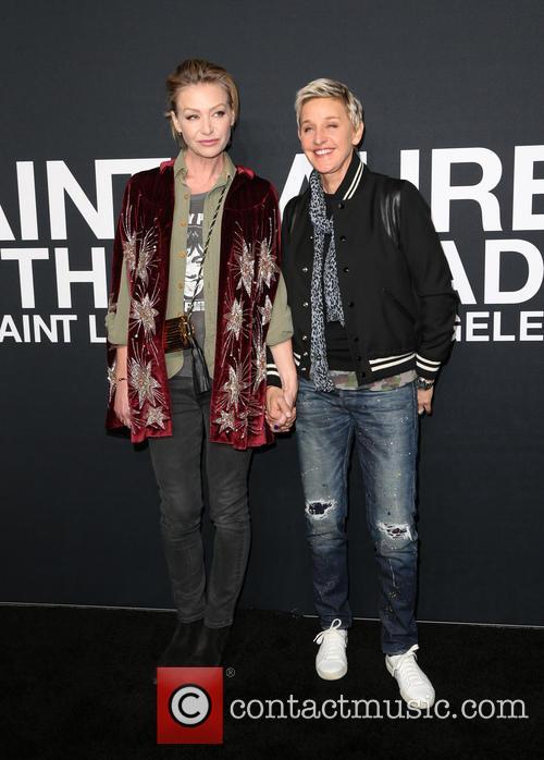 Portia De Rossi and Ellen Degeneres 3