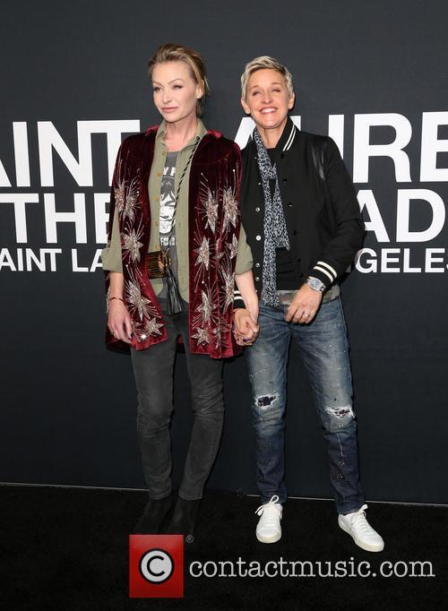 Portia De Rossi and Ellen Degeneres 4