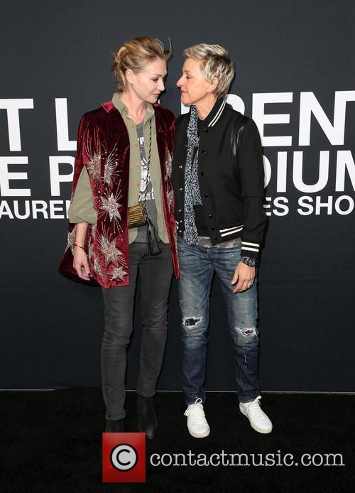 Portia De Rossi and Ellen Degeneres 5