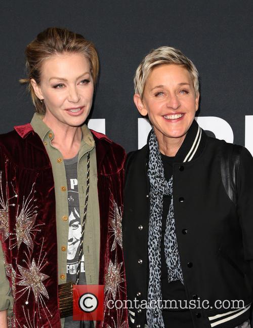 Portia De Rossi and Ellen Degeneres 9