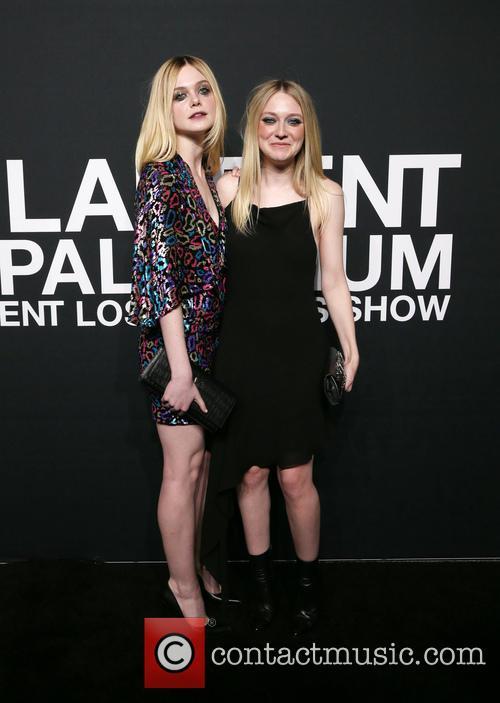 Elle Fanning and Dakota Fanning 3