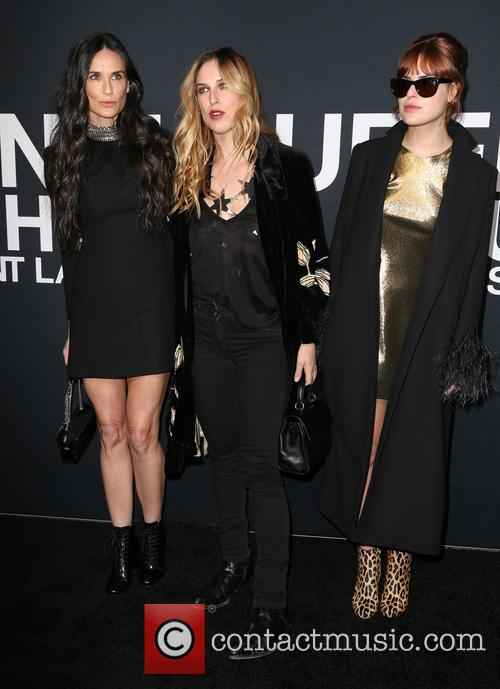 Demi Moore, Scout Willis and Tallulah Willis
