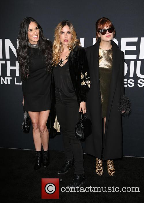 Demi Moore, Scout Willis and Tallulah Willis 2