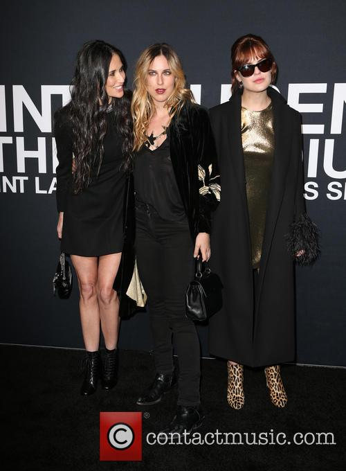 Demi Moore, Scout Willis and Tallulah Willis 3