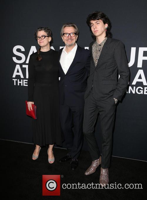 Gisele Schmidt, Gary Oldman and Charlie Oldman 1
