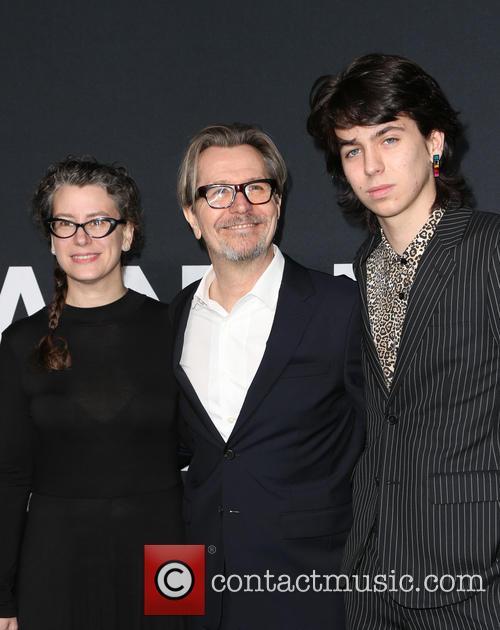 Gisele Schmidt, Gary Oldman and Charlie Oldman 2