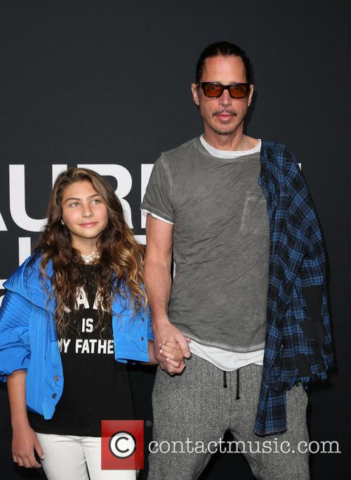 Lily Cornell and Chris Cornell 2