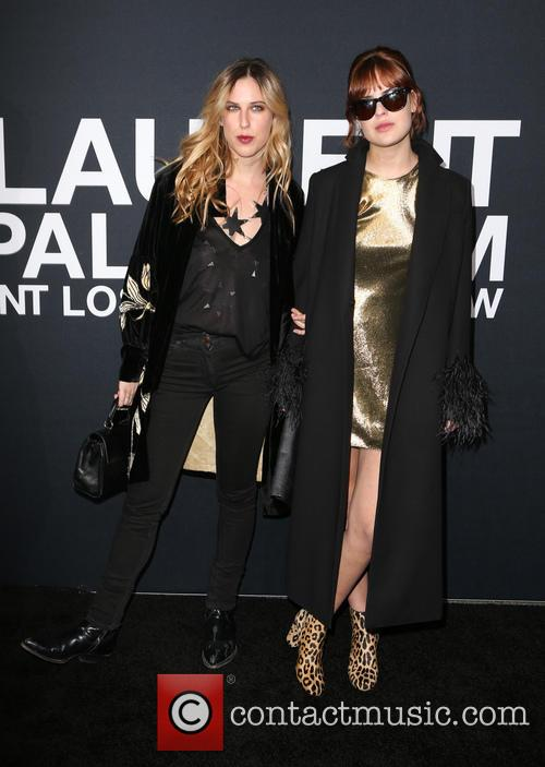 Scout Willis and Tallulah Willis 3