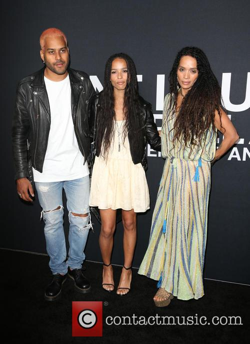 Twin Shadow, Zoe Kravitz and Lisa Bonet 2