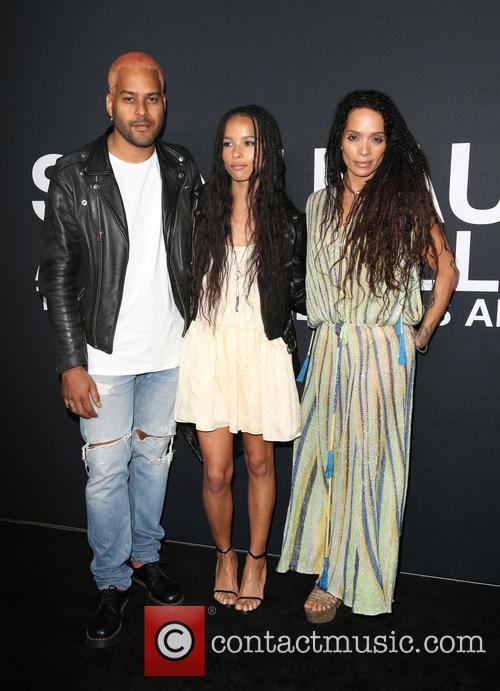 Twin Shadow, Zoe Kravitz and Lisa Bonet 4