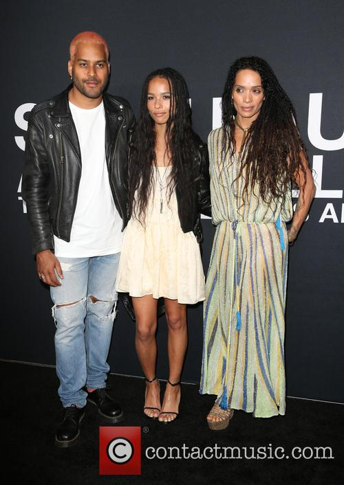 Twin Shadow, Zoe Kravitz and Lisa Bonet 5