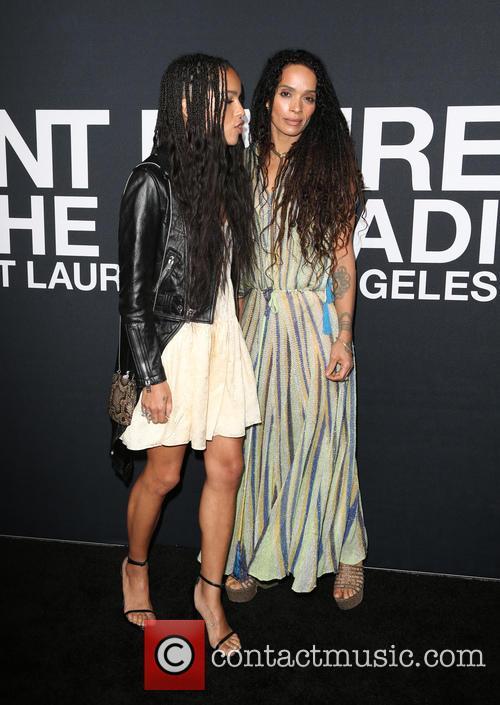 Zoe Kravitz and Lisa Bonet 2
