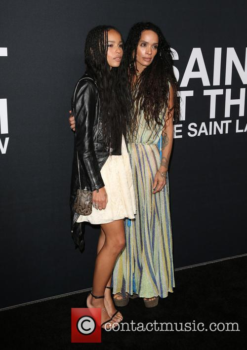 Zoe Kravitz and Lisa Bonet 7