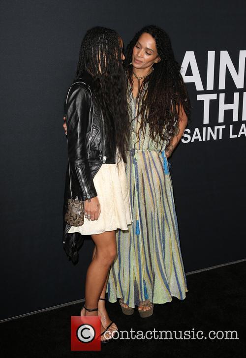 Zoe Kravitz and Lisa Bonet 8