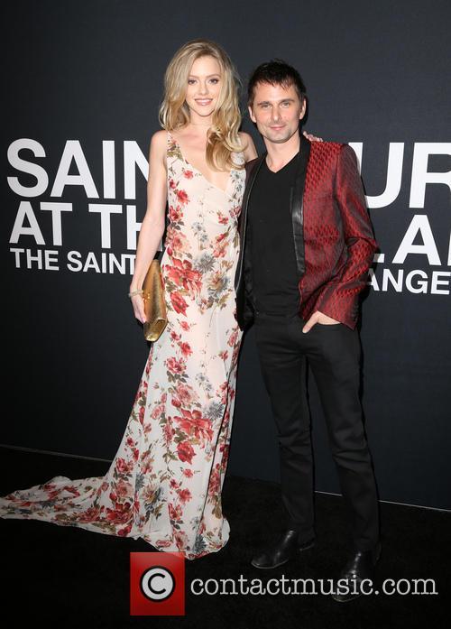 Elle Evans and Matt Bellamy 2