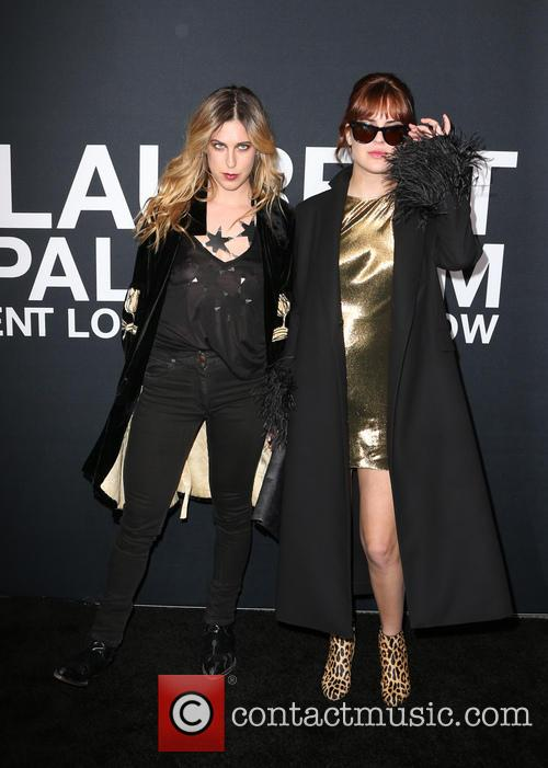 Scout Willis and Tallulah Willis 4