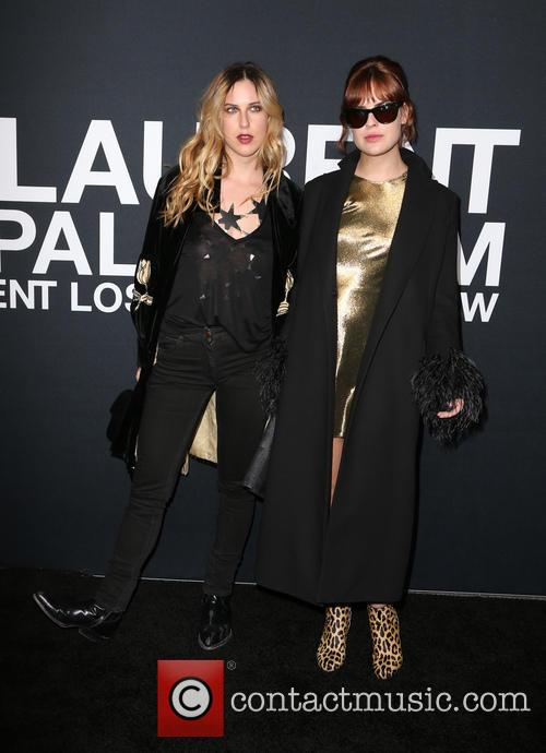 Scout Willis and Tallulah Willis 6