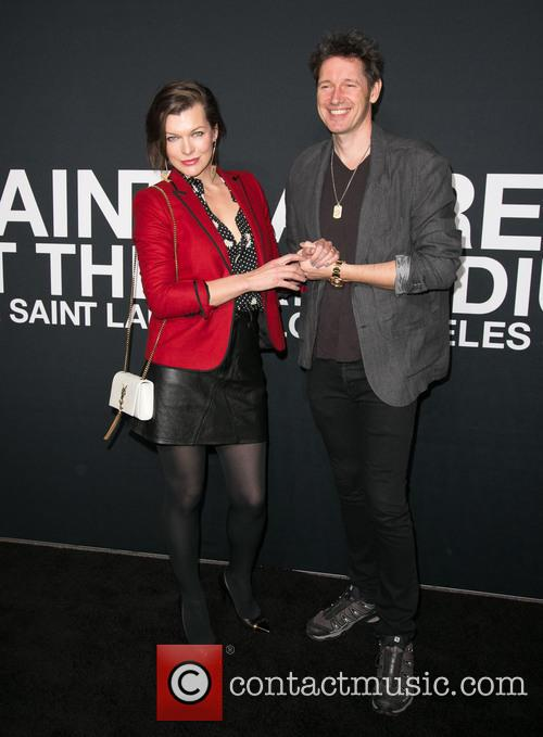 Milla Jovovich and Paul W. S. Anderson 6