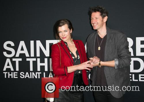 Milla Jovovich and Paul W. S. Anderson 7