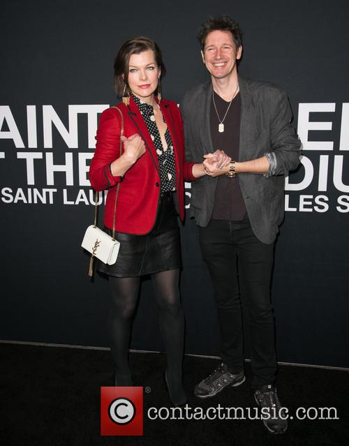 Milla Jovovich and Paul W. S. Anderson 8