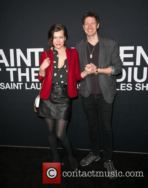 Milla Jovovich and Paul W. S. Anderson 9