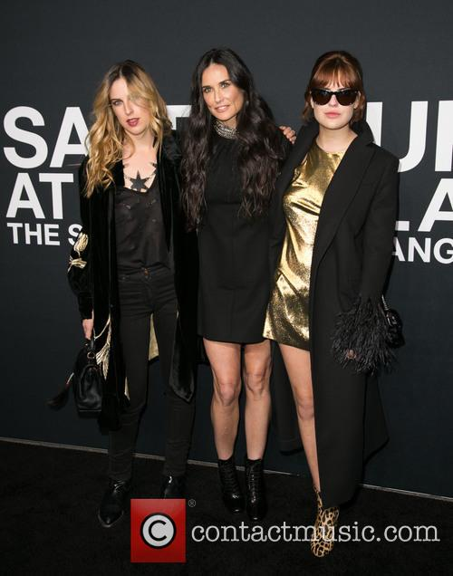 Scout Willis, Demi Moore and Tallulah Willis 1