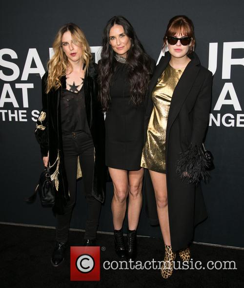 Scout Willis, Demi Moore and Tallulah Willis 3