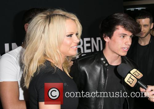 Pamela Anderson and Dyland Lee 6