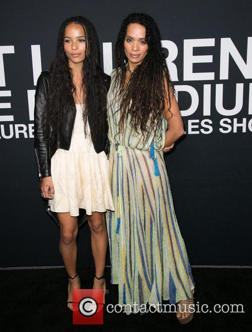 Zoe Kravitz and Lisa Bonet 1