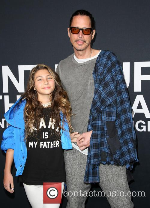 Chris Cornell and Toni Cornell pictured in 2016