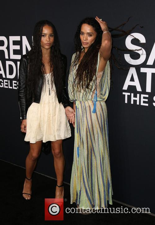 Zoe Kravitz and Lisa Bonet 7