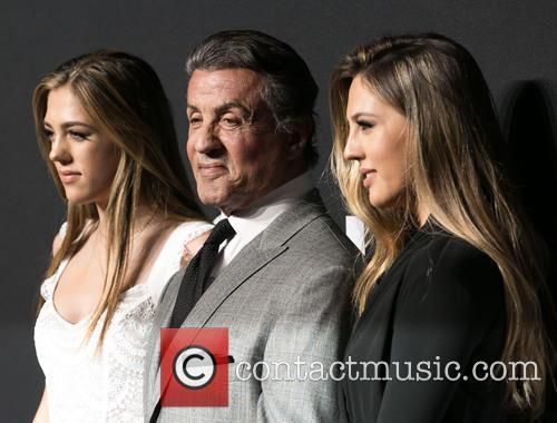 Sistine Stallone, Sylvester Stallone and Sophia Stallone 5