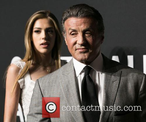 Sistine Stallone and Sylvester Stallone 6