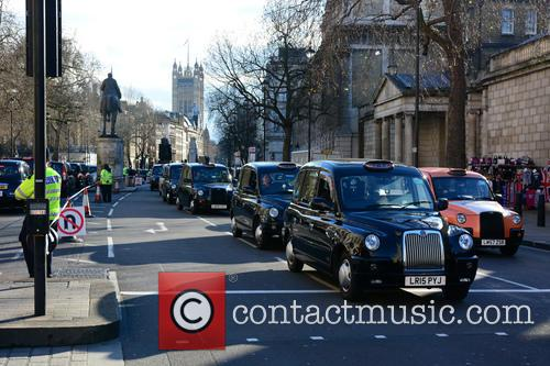 London Taxi Strike London 2