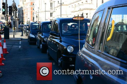 London Taxi Strike London 3
