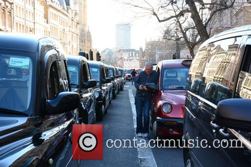 London Taxi Strike London 6