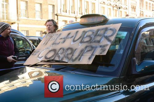 London Taxi Strike London 7
