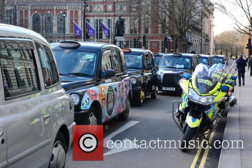 London Taxi Strike London 11